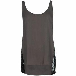 AllSaints Madison Vest sequin top UK 12 / US 8